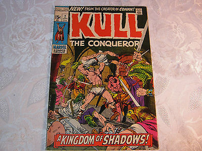 Kull The Conqueror No. 2 Sept  Marvel Comic Vintage    T*