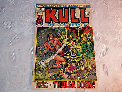 Kull The Conqueror No. 3 July  Marvel Comic Vintage    T*