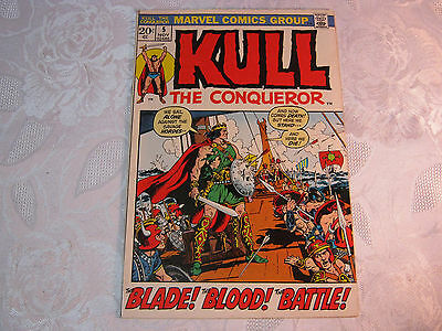 Kull The Conqueror No. 5 Nov  Marvel Comic Vintage    T*