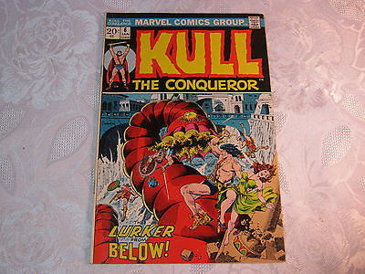 Kull The Conqueror No. 6 Jan  Marvel Comic Vintage    T*