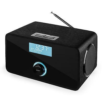 Lautsprecher Dab+ Digital Radio Wecker Bluetooth Ukw Rds Kompakt Sound Audio Box
