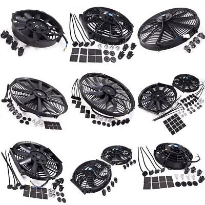 "Universal Push Pull 12V Race Rally Drift Electric Radiator 8"" 12"" 14"" 16"" Fans"