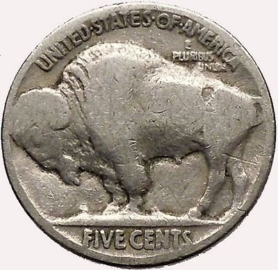 1920 BUFFALO NICKEL 5 Cents of United States of America USA Antique Coin i43576