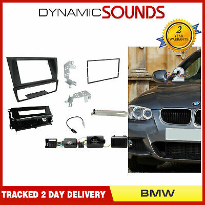 CTKBM13 Double Din Car Stereo Fascia Fitting Kit For BMW 3 Series E90 (05-12)