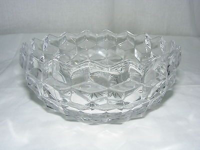"Vintage American Fostoria Clear 5"" Round Bowl Candy Dish No Lid"