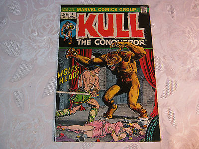 Kull The Conqueror No. 8 May  Marvel Comic Vintage    T*