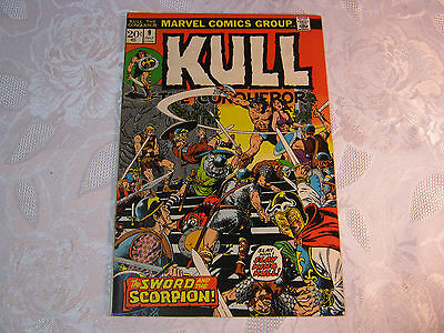 Kull The Conqueror No. 9 July  Marvel Comic Vintage    T*