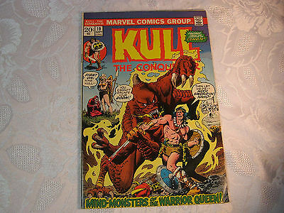 Kull The Conqueror No. 10 Sept  Marvel Comic Vintage    T*