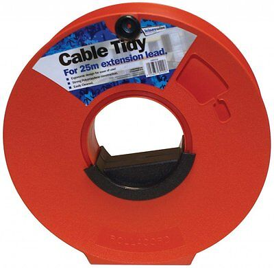 Camping, Caravan, Camping Cable Tidy Reel For 25m Mains Hook Up Lead Extension