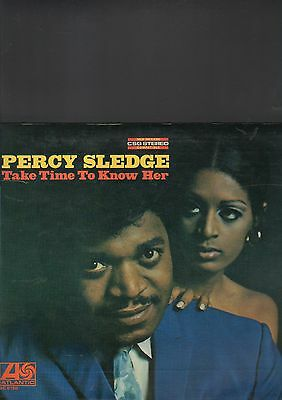 PERCY SLEDGE - take time to know her LP first italy press