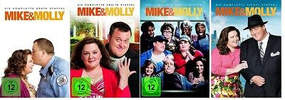 Mike & Molly - Season/Staffel 1+2+3+4 * NEU OVP * DVD Set * (and,und)