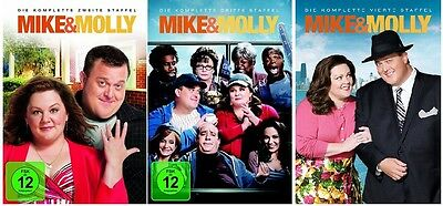 Mike & Molly - Season/Staffel 2+3+4 * NEU OVP * DVD Set * (and,und)
