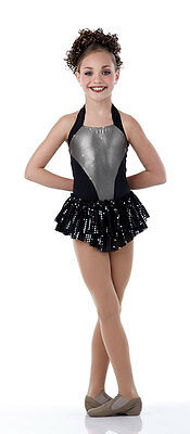 Gunmetal Dance Costume Dress Tap Costume  Jazz Child & Adult Sizes