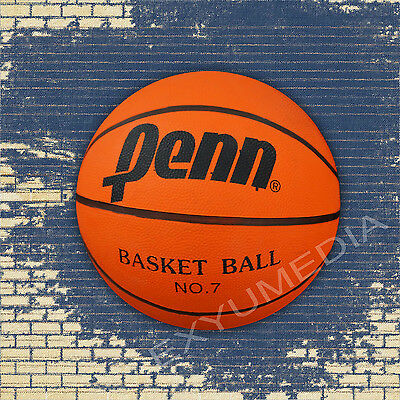 2x Penn Basketball Größe 7 Orange für Outdoor Indoor Streeat Game Official Size