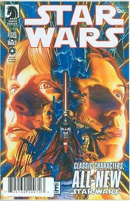 Star Wars #1 First Print Df Dynamic Forces Signed Alex Ross Coa Ltd Dark Horse