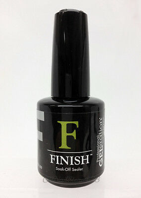 Jessica GELeration Gel Polish - FINISH Soak-Off Sealer TOP Coat 0.5oz/15ml