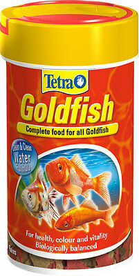 Tetra Goldfish Flake Staple Food For All Coldwater Fish 52g 100g 200g 1kg 2kg