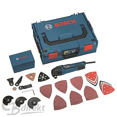 BOSCH Multi-Cutter GOP 250 CE + 50x Accessori + L-BOXX 0601230001