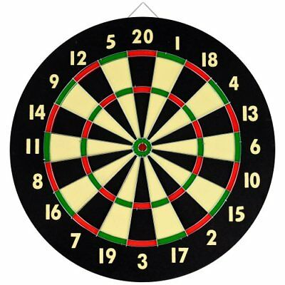 TG Dart Game Set With 6 Darts and Board  New Gift