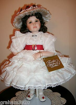 Gone With the Wind~KATIE SCARLETT O'HARA~Porcelain Doll By: The Franklin Mint
