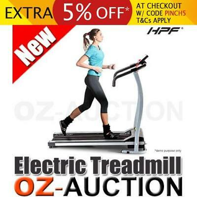 HPF Super Compact Treadmill Exercise Equipment Home Gym Fitness Motorised