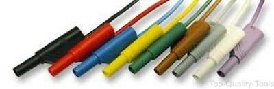 Hirschmann Test And Measurement,934 088-188,test Lead, Yellow/green, 4Mm
