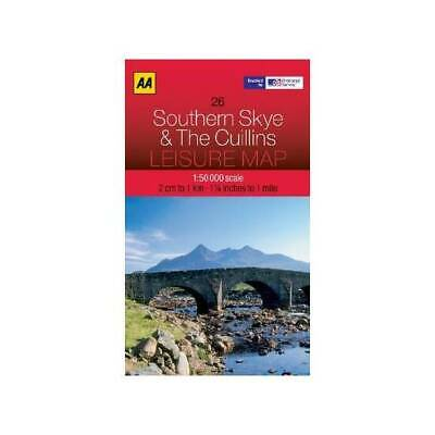 Leisure Map Southern Skye and the Cuillins (AA Leisure Maps)