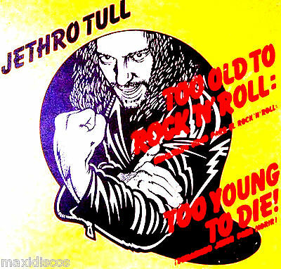 LP - Jethro Tull - Too Old To Rock N' Roll: Too Young To Die! (Demasiado Viejo..