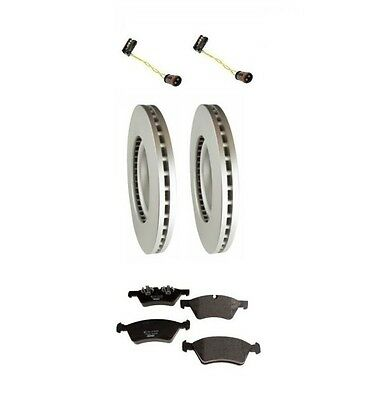 Front Rotors with Pads Sensors Brake Kit For Mercedes W164 GL450 2007-2012