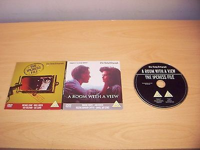 A ROOM WITH A VIEW & THE IPCRESS FILE 2 Double Feature Widescreen Version DVD