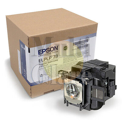 Genuine Projector Lamp Module for EPSON ELPLP78 / V13H010L78