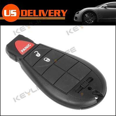 Uncut Replacement Fob Key Keyless Entry Fob 3 Buttons For Chrysler Dodge Ram