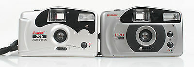 2 Bell 7 Howell Point And Shoot Cameras