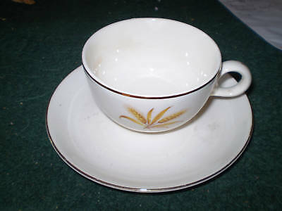 TAYLOR SMITH TAYLOR WHEAT CUP AND SAUCER SET