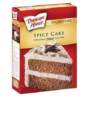 Duncan Hines Signature Spice Cake Mix 16.5 oz Box