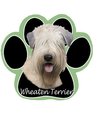 Wheaten Terrier Dog Paw Shaped Computer MOUSE PAD Mousepad