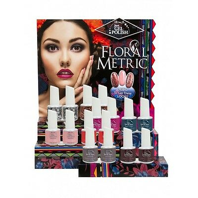 IBD Just Gel Polish - FLORAL METRIC COLLECTION 2014 - Pick Your Color