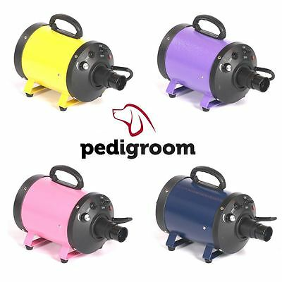 Pedigroom dog pet cat grooming hair fur dryer hairdryer heater blaster wash dry