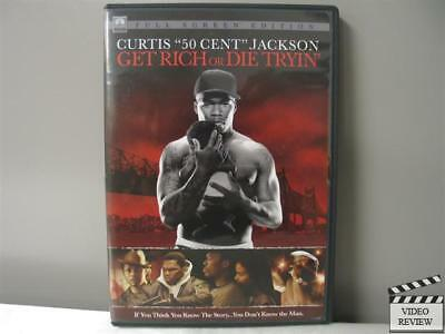Get Rich or Die Tryin' (DVD, 2006, Full Screen)