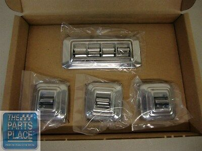 1959-70 GM Power Window Switch Kit - 4 Button And 3 Single