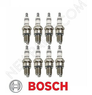 For BOSCH Spark Plug Set of 8 For Mercedes W107 W116 W126 Part # 0031591003