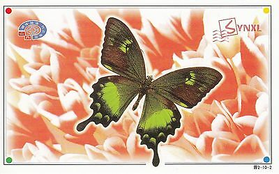 Postcard - Famous Chinese Butterfly #02