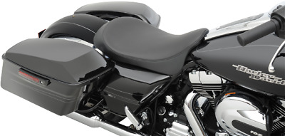 Drag Specialties low profile smooth solo seat 08-17 Harley Davidson Touring FLHX