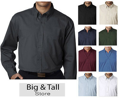 5ff5ecd0580 BIG   TALL Men s UltraClub Dress Shirt 2XL - 6XL 2XLT -  29.38 ...