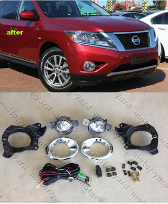 Nissan Pathfinder R52 2013 to 2016 Spot / Driving / Fog Lights Fog lamps Kit