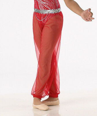 Harem Pants Dance Costume Accessory Halloween Genie Ballet FIRE & ICE CXS CS