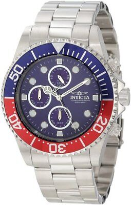 New Invicta Watch Mens 1771 Pro Diver Collection Chronograph Gift Present Authen