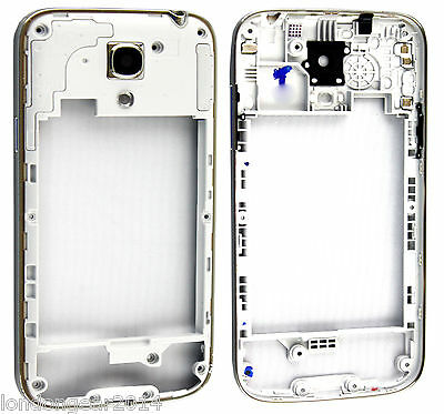 Genuine Middle Chassis Housing Cover For Samsung Galaxy S4 Mini i9190/i9195 Grey