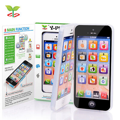 Y-Phone Kids Children Baby Learning Study Toy Mobile Y Phone Educational Toys WH
