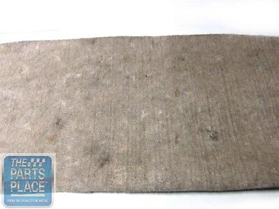 1968-72 Chevrolet Nova / Chevy II Package Tray Jute Insulation